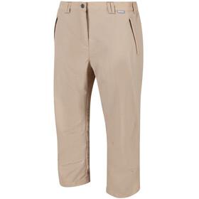 Regatta Chaska II Pantalones Capri Mujer, moccasin
